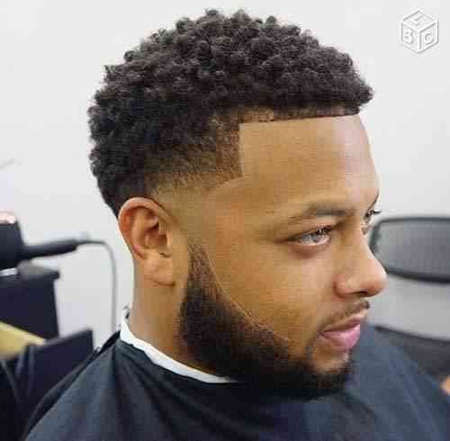 Coupe afro américain | Coiffure homme, Coiffure homme ...