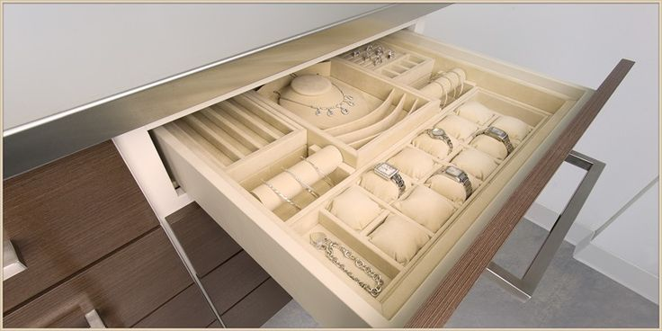 Custom Drawer Inserts Details Pinterest Jewelry