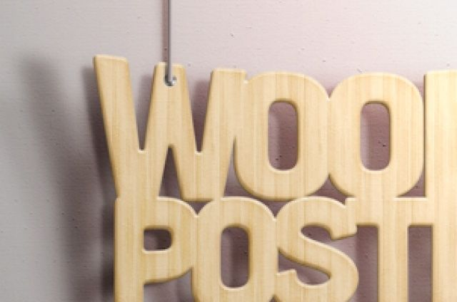 An original curved psd wood text effect with two custom hanging wires to showcase your message with style....