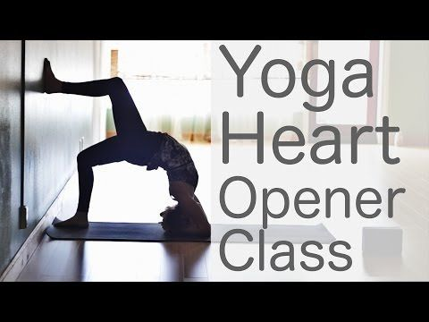 Free Yoga Class Fun Heart Opening To Lift Your Mood: Yoga with Lesley Fightmaster - YouTube