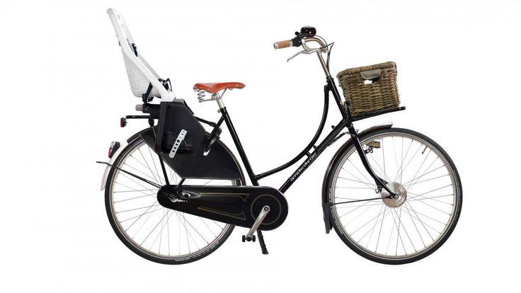 Un vélo électrique idéal pour porter les enfants ou les courses