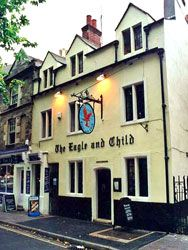 Tolkien's favorite Oxford pub to get major renovations | The Eagle & Child (It is also on my bucket list to go to, and to eat there with a cup of tea and of course a beer lol)