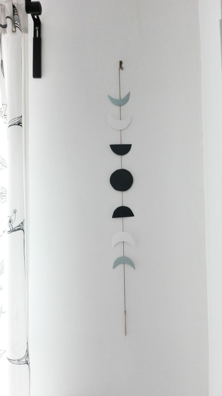 Moon Phases Garland diy