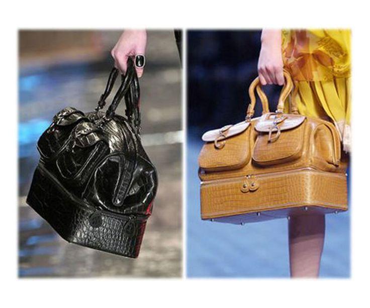 "John Galliano Dior '05 Luxury Limited ""Voyage"" Crocodile Handbag    $32,270 #ChristianDior #Doctor"