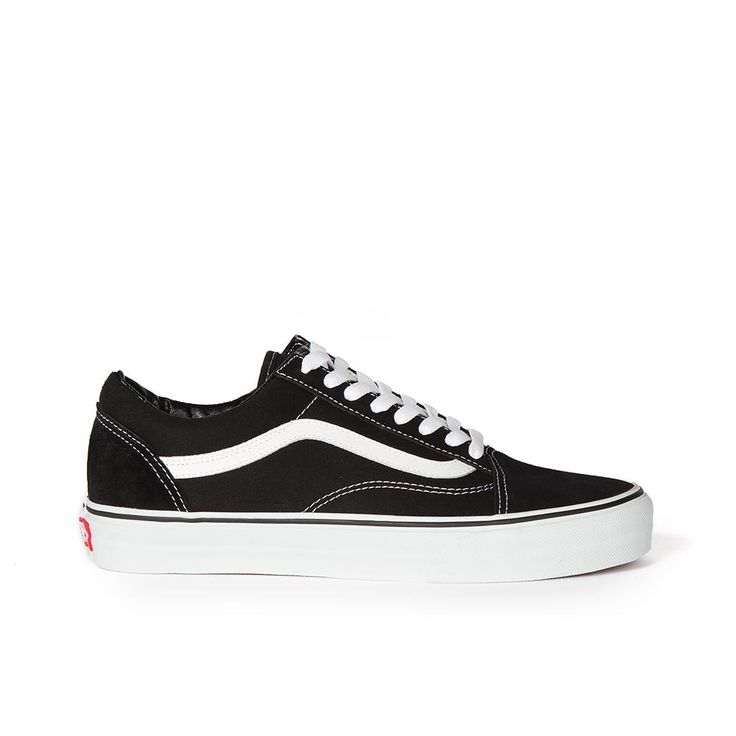 The Old Skool by Vans is a classic skate shoe popularized in the mid 1980's