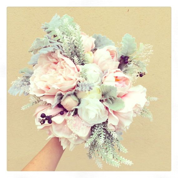 Amazingly natural bouquet for your wedding by AshleeLaurenDesigns