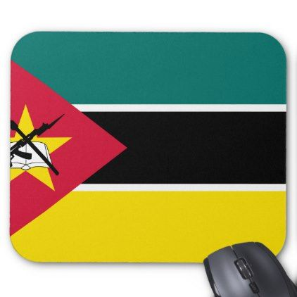 #Mozambique Flag Mouse Pad - #office #gifts #giftideas #business
