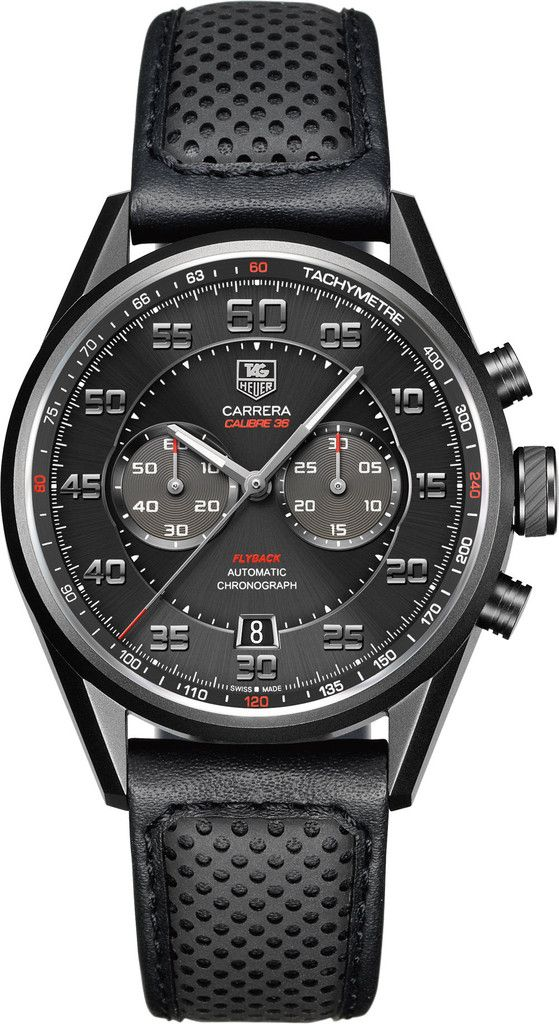 TAG Heuer Watch Carrera Chronograph Flyback Calibre 36 #bezel-fixed…