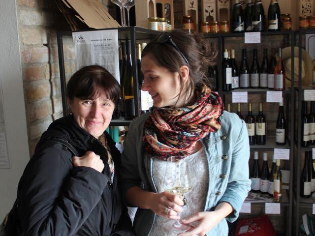 Julia Dóra Molnar and her mother Beáta
