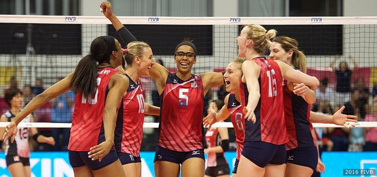 No. 1 In The World, U.S. Women's Volleyball Team Names Its Olympic Squad
