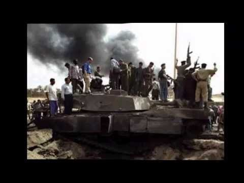 M1 Abrams destroyed by RPG-29  in Iraq 2015