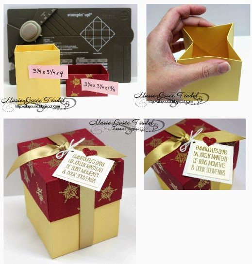 41 best Gift Box Punch Board images on Pinterest | Envelope punch ...