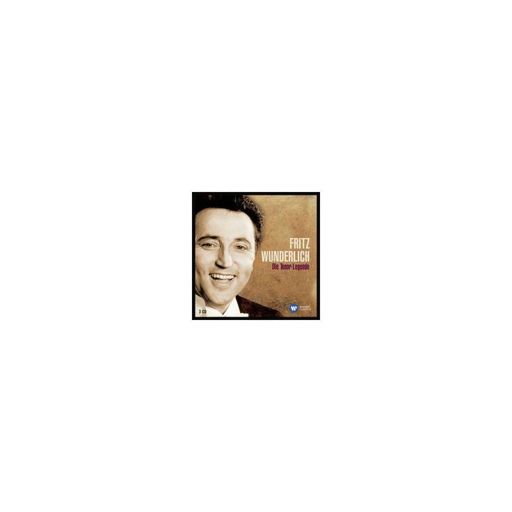 Fritz Wunderlich - Die Tenor Legende (CD)