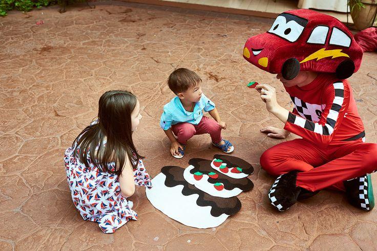 Тачка Маквин на детский праздник!
