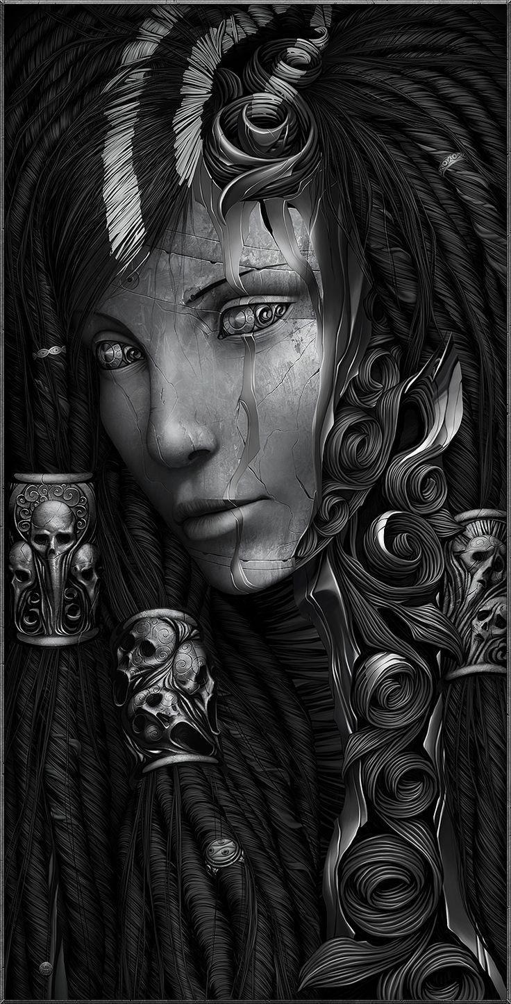 High dawnknight tlinthar regheriad lathander paladin iluskan order - Les Digital Paintings Incroyables D Alexander Fedosov Aka Hollllow