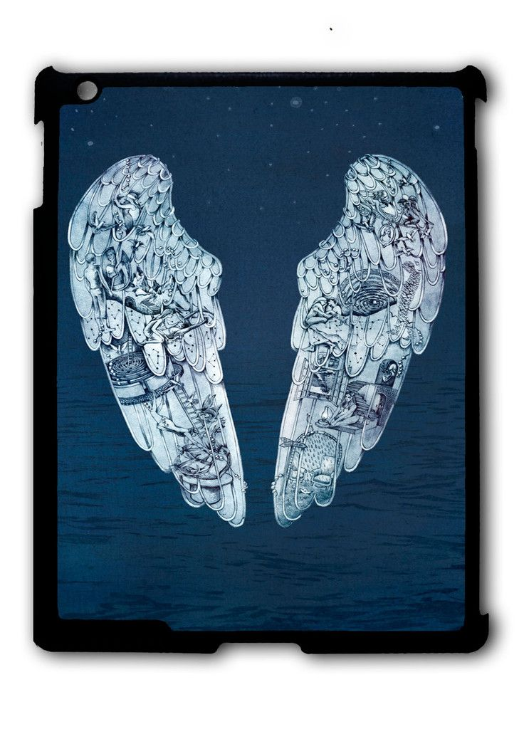 Coldplay Ghost Stories Logo iPad case, Available for iPad 2, iPad 3, iPad 4 , iPad mini and iPad Air