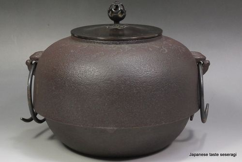 Japanese Chagama Iron Tea Ceremony Pot Tetsubin Tea Kettle Pot Sado | eBay