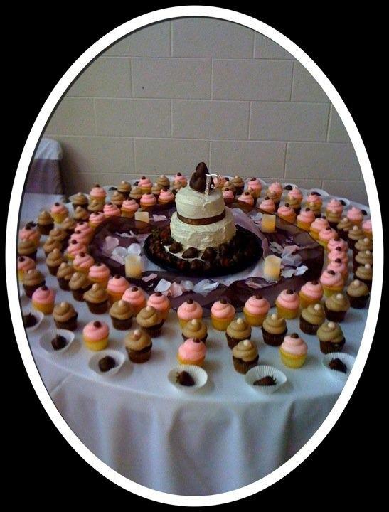 Cake table display.