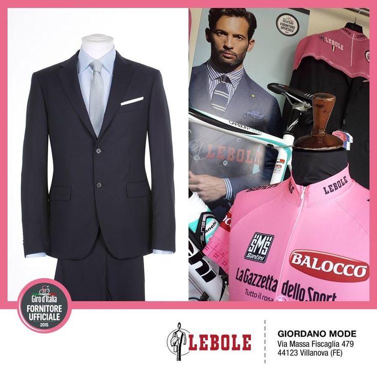 GIORDANO MODE, Villanova (FE) - I nostri Clienti festeggiano il Giro d'Italia 2015 e presentano l'abito esclusivo prodotto da LEBOLE per il Giro #lebolegiro2015 #lebole #abito #modauomo #fashion #stile