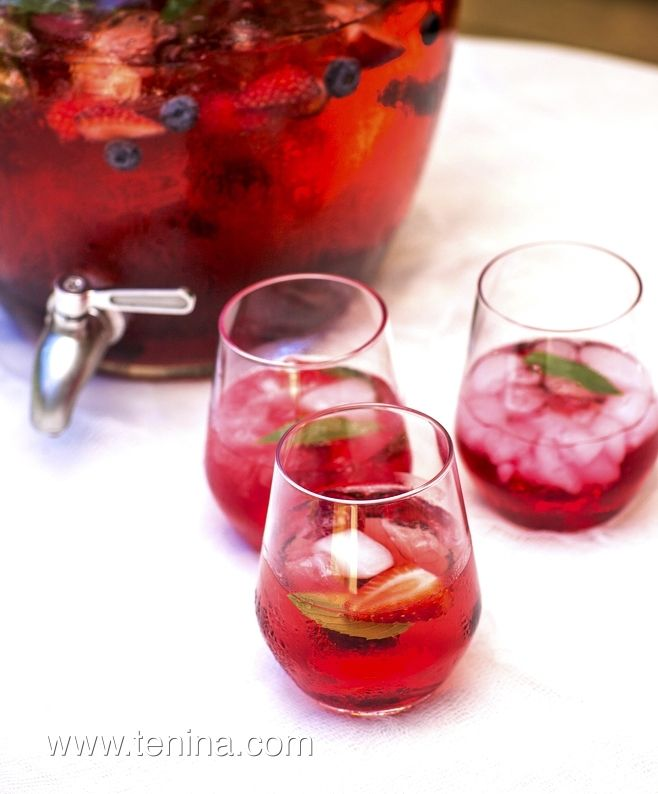 Thermomix recipe: Cranberry, Apple and Ginger Punch · Tenina.com