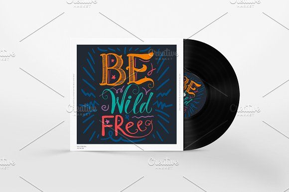 Be Wild And Free by barsrsind on @creativemarket