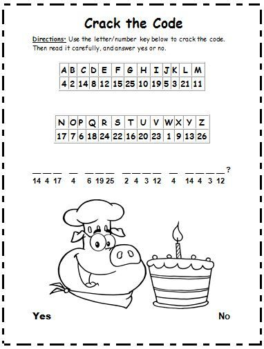 61 best images about code breaking for kids on Pinterest ...