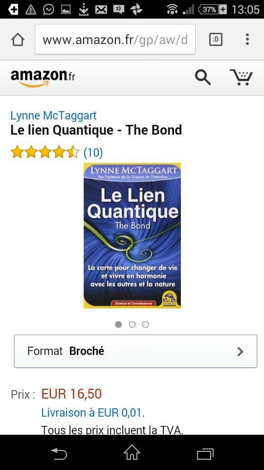 Intention lien quantique