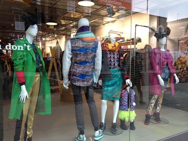 Best Charity shop window -so cool! (in Dalston Kingsland)