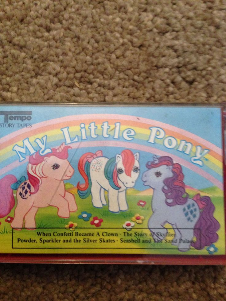 MY LITTLE PONY CASSETTE TAPE AUDIO STORIES VINTAGE 1985 display only not play | eBay
