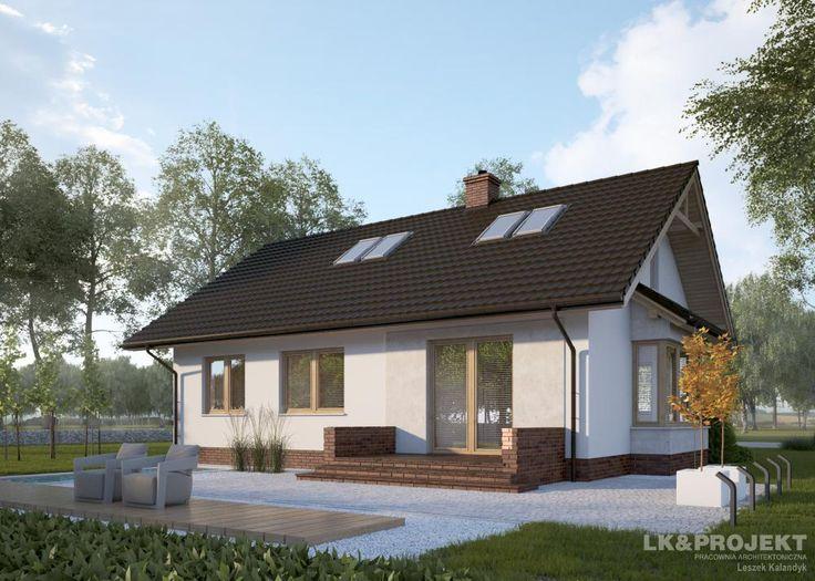Projekty domów LK Projekt LK&1178 zdjęcie 2
