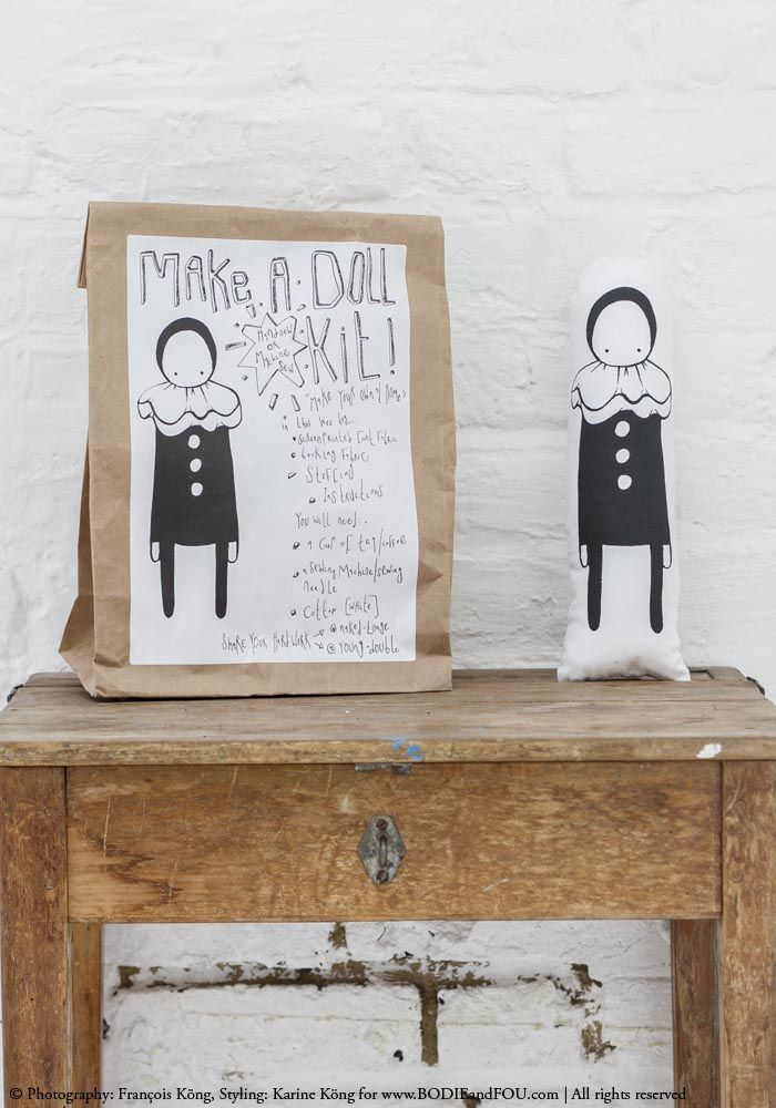 Make a Doll Kit - A perfect gift for creative children — Bodie and Fou - Award-winning inspiring concept store