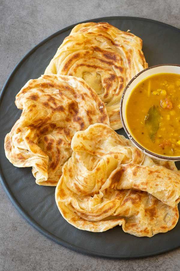 How To Make Roti Canai El Mundo Eats Recipe In 2020 Recipes Paratha Recipes Roti