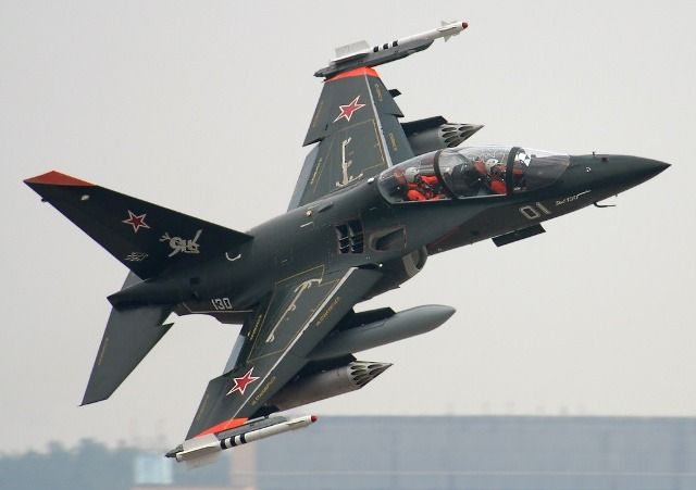 "enrique262: ""Russian Air Force, Yakovlev Yak-130 subsonic advanced trainer and multirole light fighter. """
