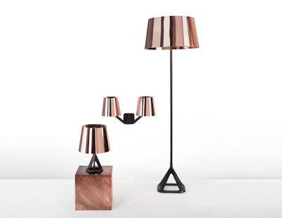 Wandleuchte Base Copper, Kupfer / Schwarz Von Tom Dixon Finden Sie Bei Made  In Design, Ihrem Online Shop Für Designermöbel, Leuchten Und Dekoration.