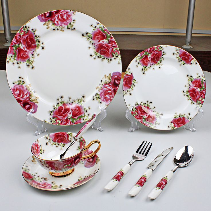 Cheap Dinnerware Sets on Sale at Bargain Price, Buy Quality table solid, tableware china, table insert from China table solid Suppliers at Aliexpress.com:1,Technique:Under Glazed 2,Dinnerware Type:Dinnerware Sets 3,Production:Cup Kit 4,Material:Bone China 5,Pattern Type:Plant