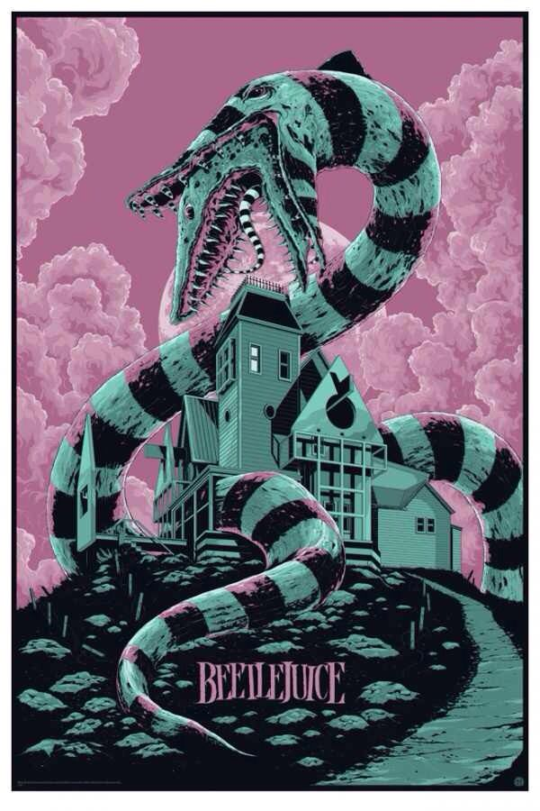 Mondo Beetlejuice Movie Poster