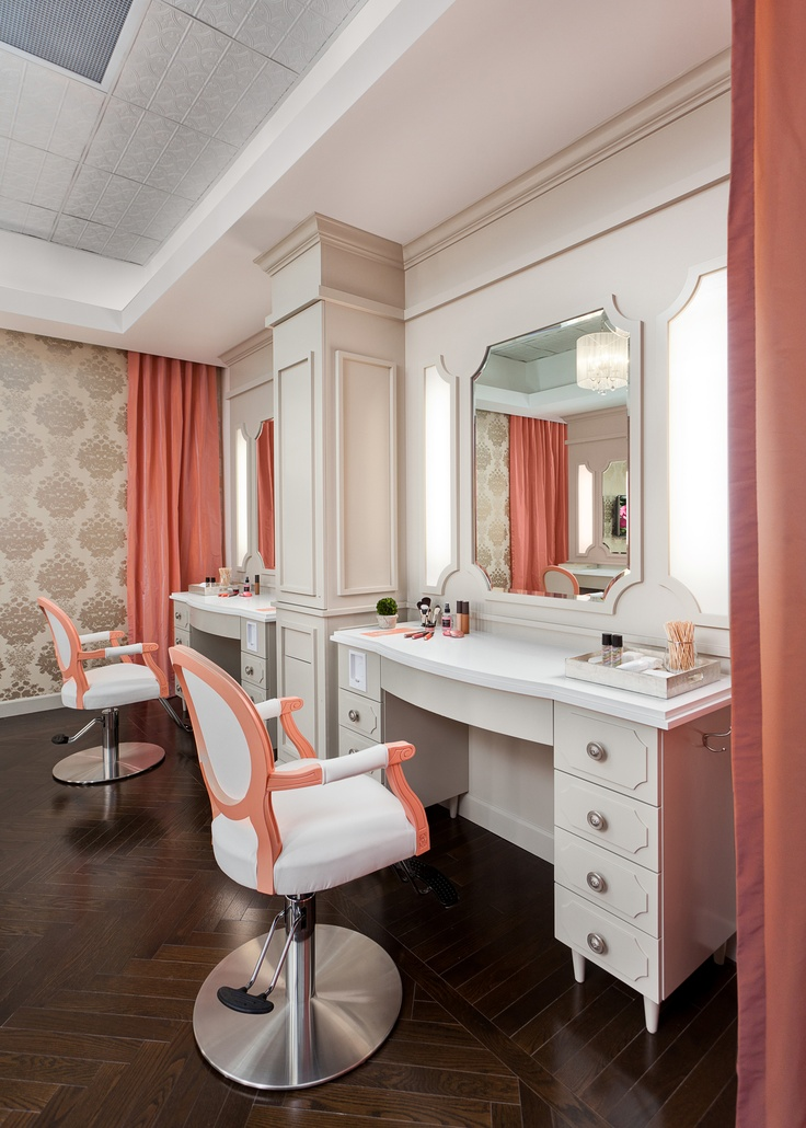 salon station with drawers - Salon Stations