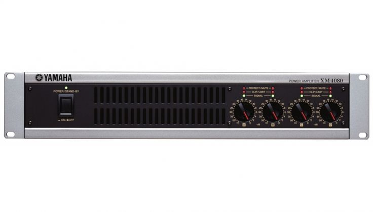 The XM series multi-channel power amplifiers are ideal for theater, hall, and conference room installations. The lineup includes 80W × 4 and 180W × 4 models, meeting the needs of a wide variety of installed systems. The XM amplifiers are a compact 2U size and surprisingly lightweight, making them easy to handle and install. Switching power supplies deliver high output power while minimizing the unit's physical size.