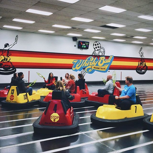 "Whirlyball Cleveland<br /> <p>5055 Richmond Rd, Bedford Hts <p>Some time in the 1960s, some guy decided to combine his three favorite past times: basketball, bumper cars and lacrosse. He called it ""whirlyball."" Today, Cleveland gets to boast one of the half dozen whirlyball courts in the States. At Whirlyball Cleveland, guests can get a drink or four at the in-house bar before renting the court for hour-long sessions. When crashing into your half-drunk friends gets old, the site also offers…"
