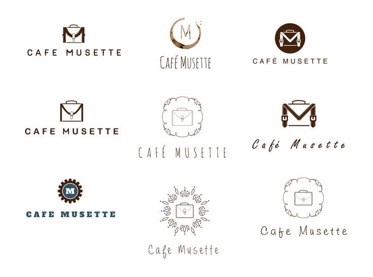 Cafe Musette Logo Concepts by Imagine If Creative Studios