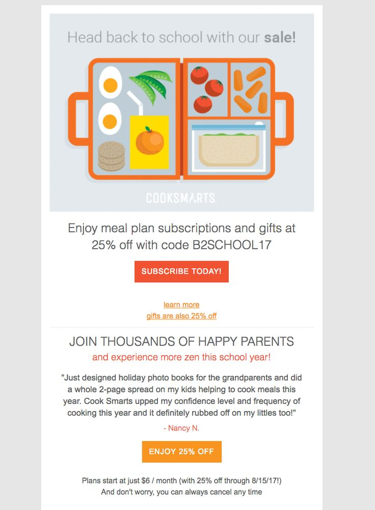 Best BackToSchool Email Design Images On   Email