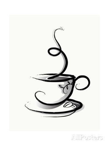 Café Impressão artística