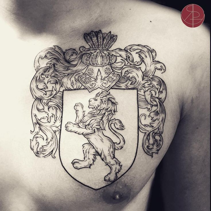 The more detail your idea has... The better! Have a few dates left end of July, email me your ideas ❤️ Who knows why I'm just now posting a family crest tattoo from March.  #majorinstaslack #foreverbusy