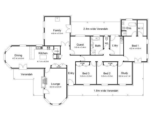 Hawkesbury Valley Homes Carrington Floor Plan