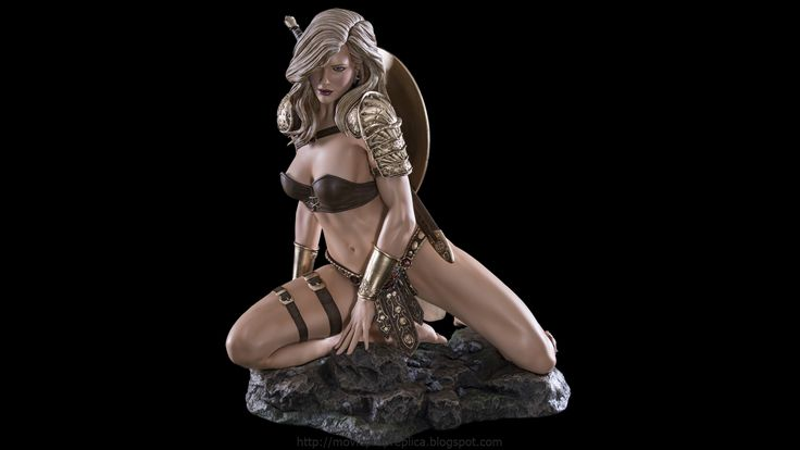 Fantasy Figure Collection: Arhian Forever 1/3th Scale Painted Polystone Statue