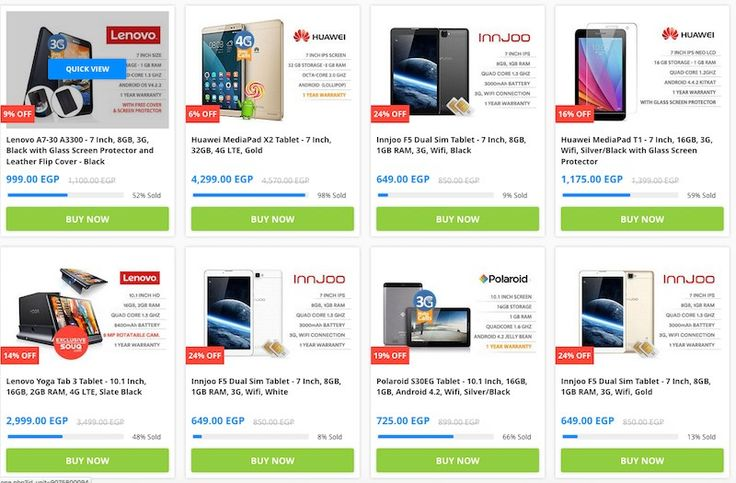 New Offers and Deals: Extra 5% Off Tablets at Souq.com  Get Extra 5% Off Select Tablets from multiple brands at Souq.com  Souq.com Delivers to your doorstep. Avoid traffic and parking hassle and ORDER NOW!  Souq accepts online payment from all major credit cards and cash on delivery.  ORDER NOW  The post Extra 5% Off Tablets at Souq.com appeared first on EDEALO.  http://ift.tt/2cBAJb1