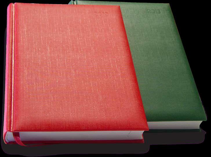 Agenda Arti Best - Format finit: 13.8 x 20.5 cm Nr. pagini: 336   8 harti Hârtie: alba, 70 g/mp, colturi perforate Tipar: 2 culori Finisare: cusuta, legata, semn de carte rosu, coperti buretate Culori disponibile: albastru, rosu, verde, bordeaux, negru, bleumarin
