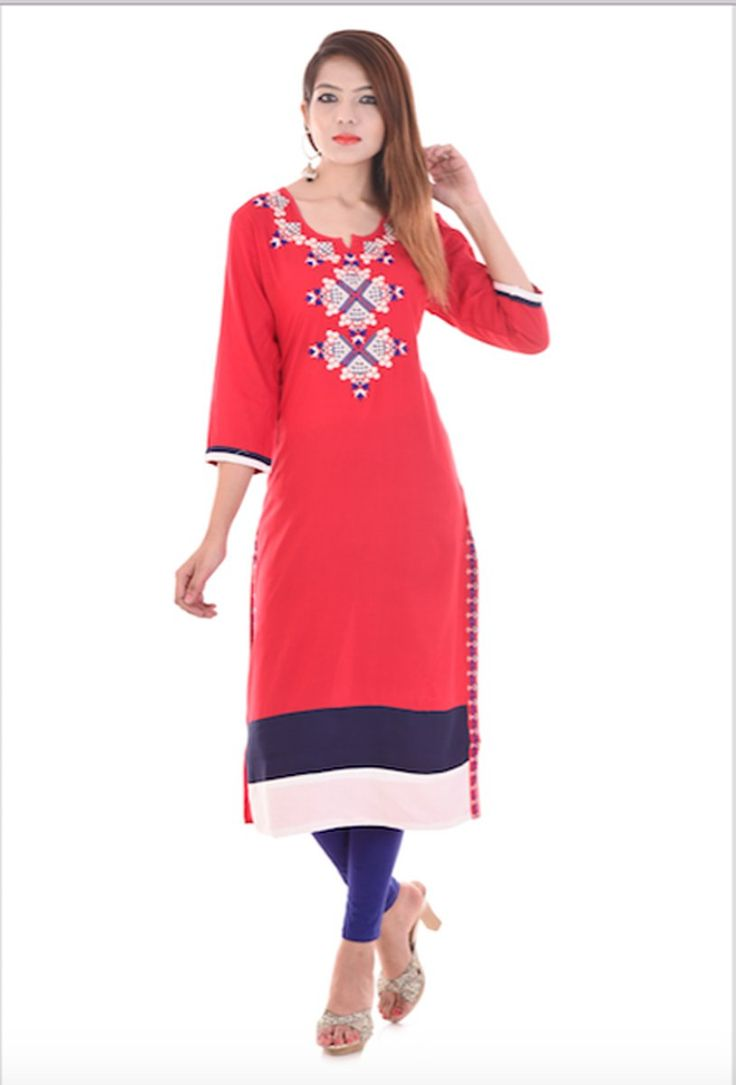 "vedika overseas on Twitter: ""Vedika Overseas Red Cotton Kurti Buy Vedika Overseas Cotton A-line Kurti Online at best price in india . Shop Online for V.O https://t.co/uCX0jkpgxi"""