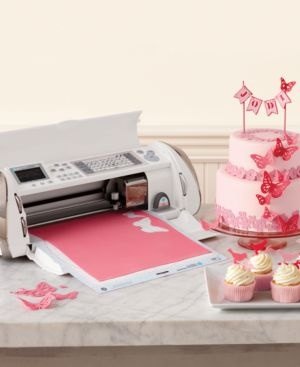 Cricut Cake Machine - Easily cut frosting sheets into decorations for baked goods