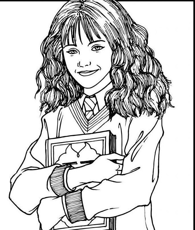 Pin Von Kira Auf Carnets A Dessins Harry Potter Ausmalbilder Ausmalen Ausmalbilder